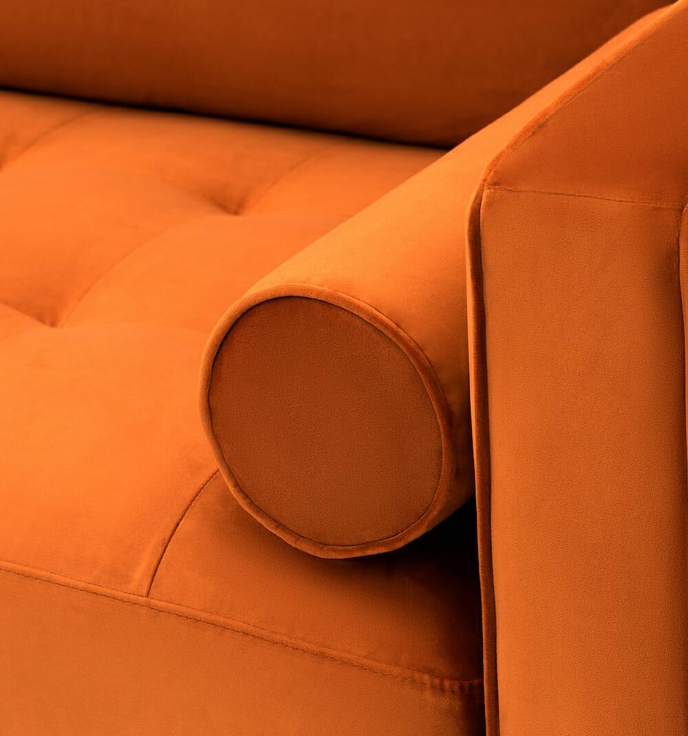 Soho sofa - orange