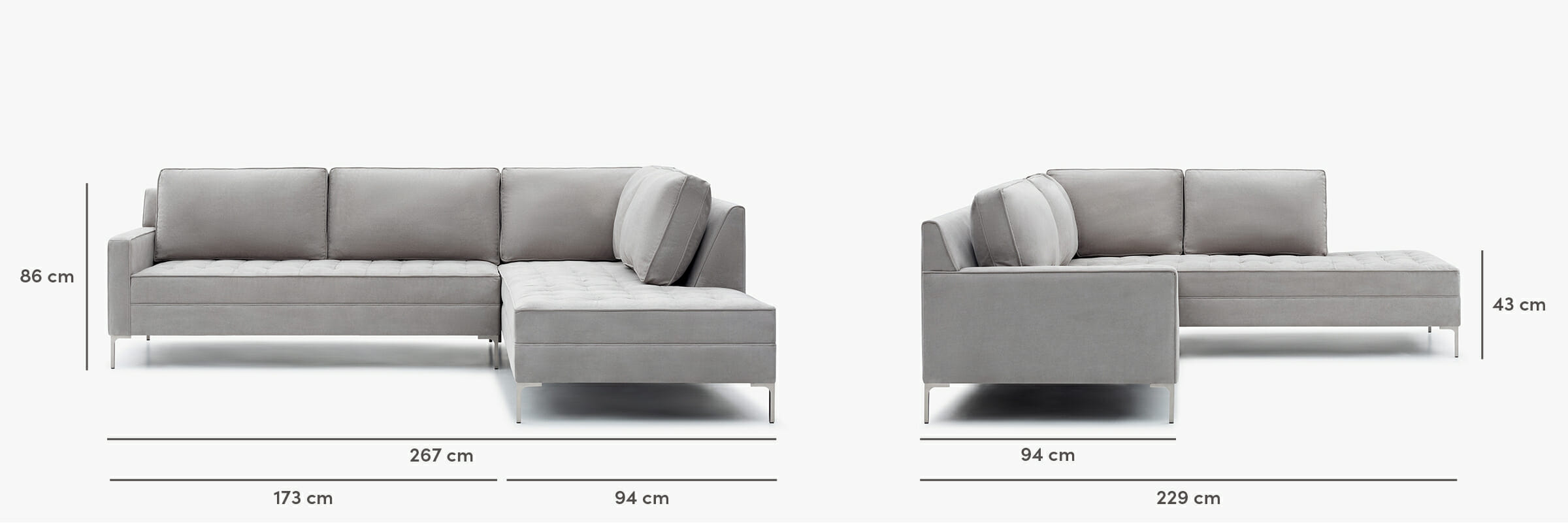 Hudson sectional dimensions