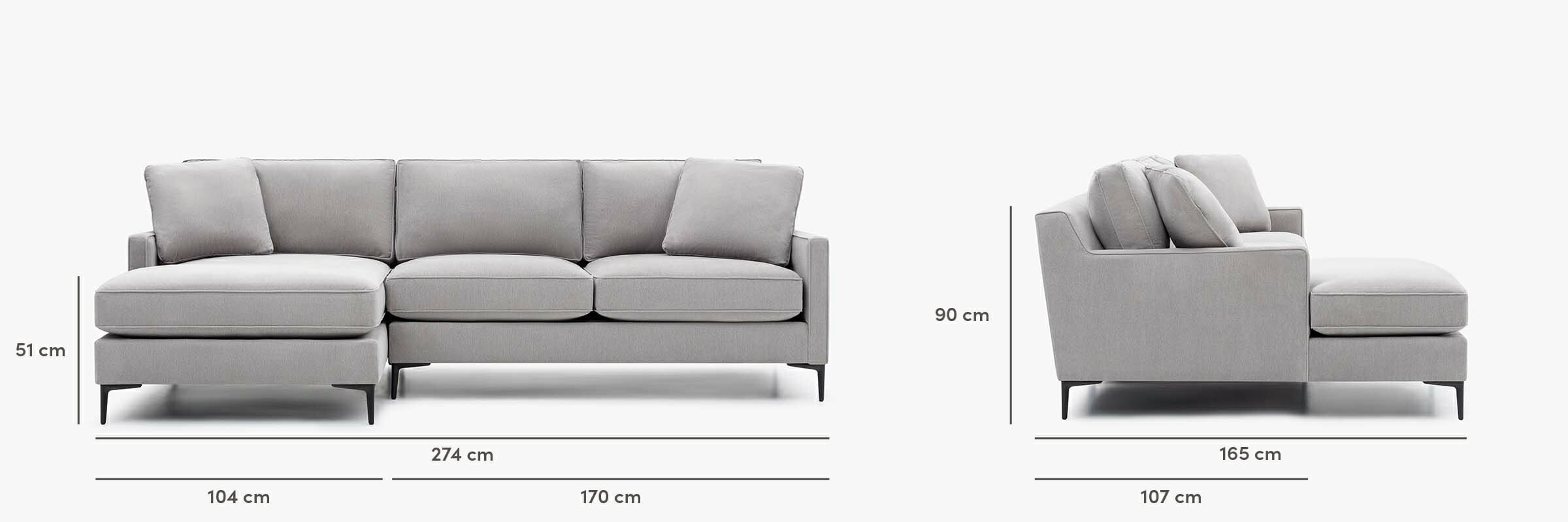 Kennedy sectional dimensions
